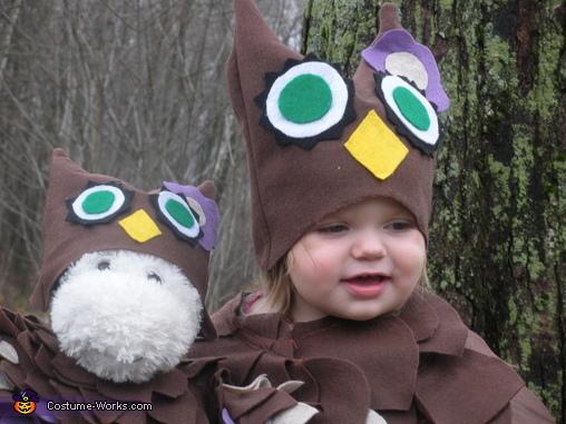 Baby Owls, Woodland Owl Baby Costume