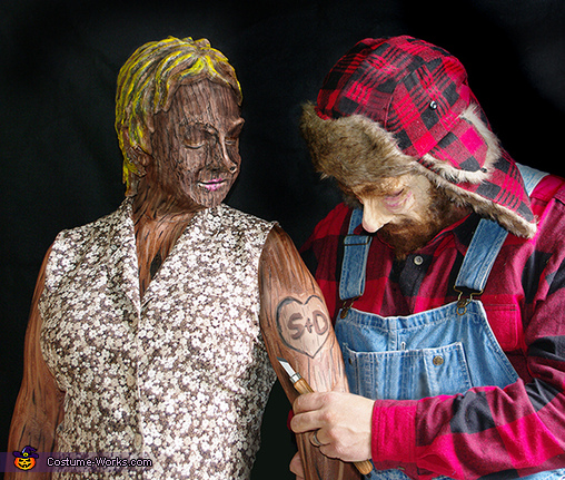 Woodsman and Wooden Doll Costume