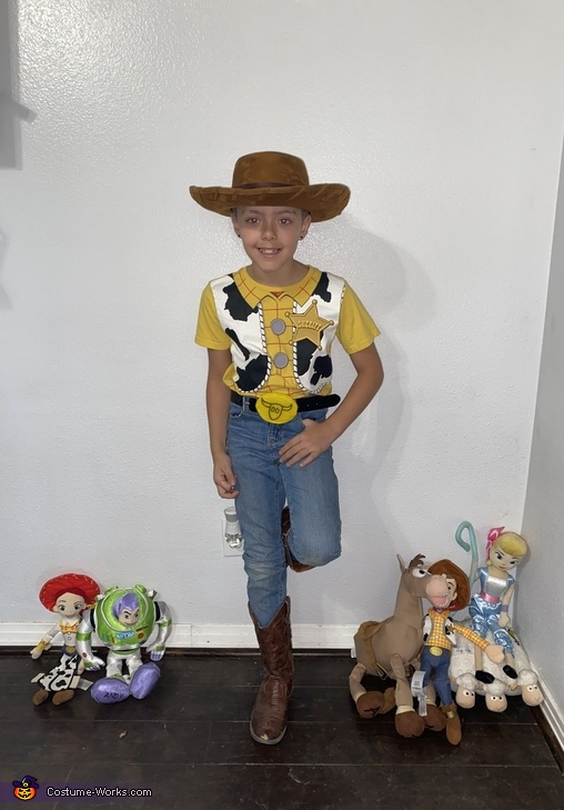 Woody Homemade Costume