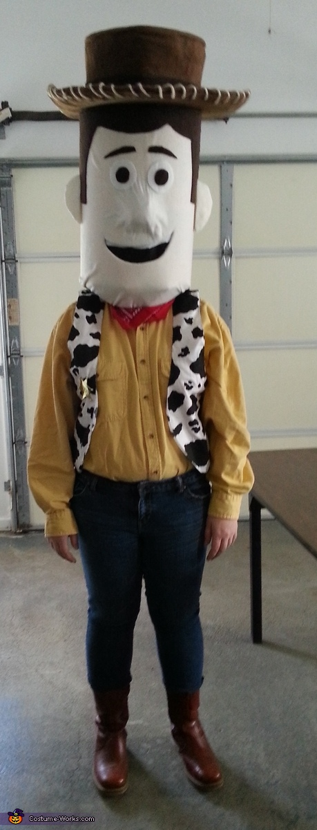 DIY Toy Story Woody Costume