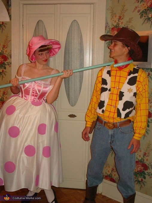 Woody and Bo-Peep Couple's Costume