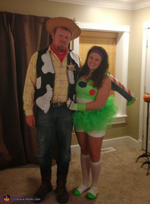 Woody and Buzz Couples Costume