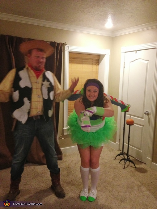 Toy Story Woody and Buzz Costume