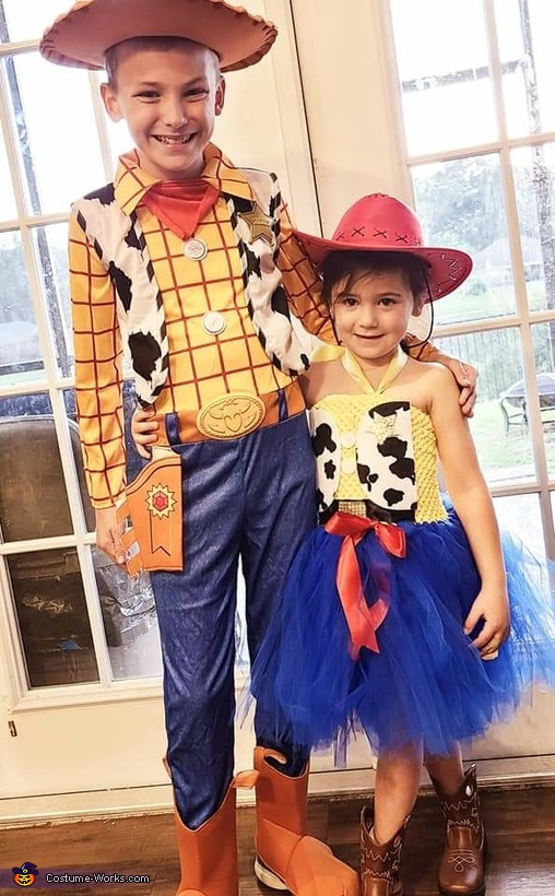 Woody and Jesse Costume