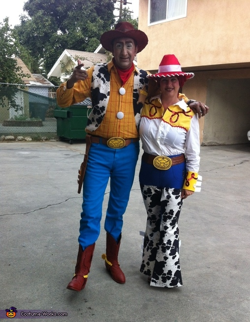 Homemade Woody u0026 Jessie Costumes & Woody u0026 Jessie Costume - Photo 3/5