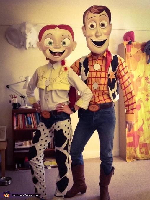 Woody & Jessie Costume