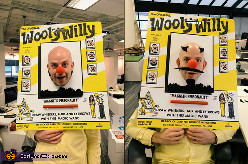 The final costume, Wooly WIlly Costume