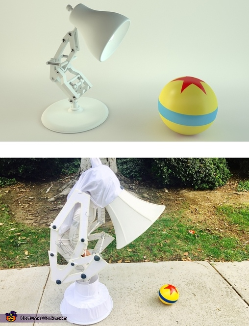 Pixar Luxo Jr. Lamp, World Series Ball & Glove Costume