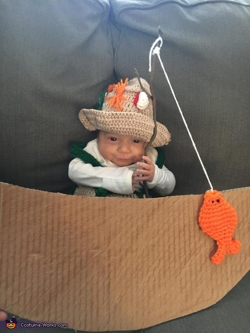 World's Cutest Fisherman Costume