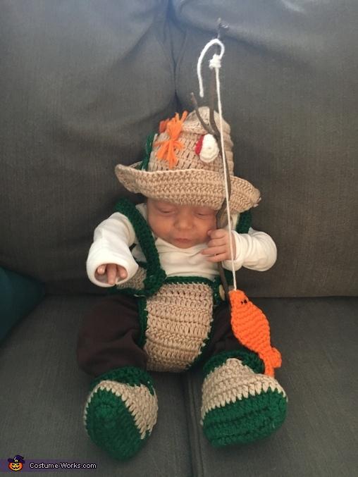 World's Cutest Fisherman Homemade Costume