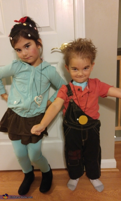 Wreck-It Ralph and Vanellope Costume