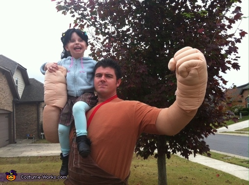 Vanellope and Major Body Odor, Wreck-It Ralph Characters Costume
