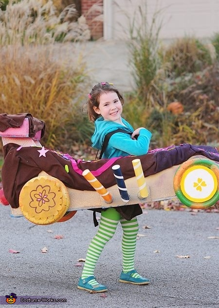 Vanelope, Wreck-It Ralph Family Costume