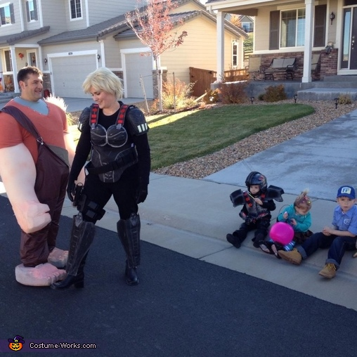 Sgt Calhoun. Wreck-It Ralph Family - Homemade costumes for families