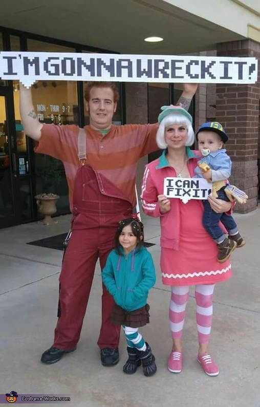 Wreck-It Ralph Costume
