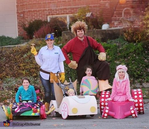 Wreck-It Ralph Family Costume