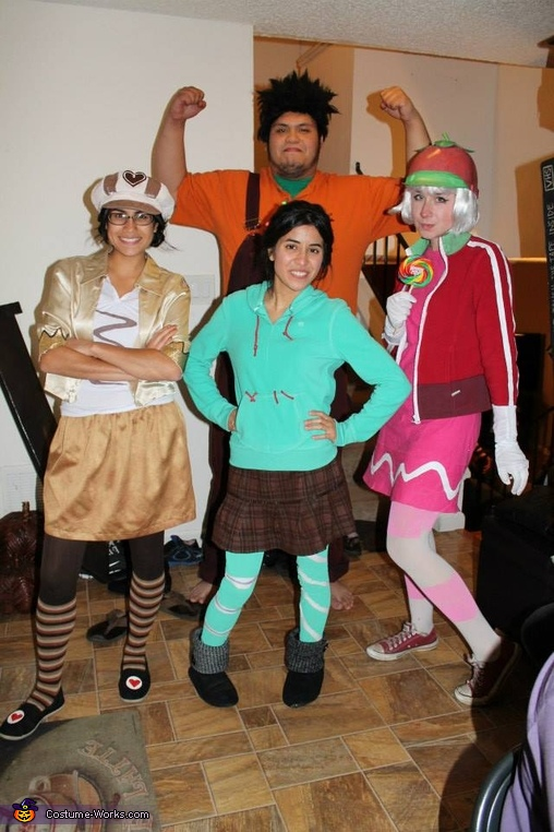 Wreck-It Ralph Gang Halloween Costume