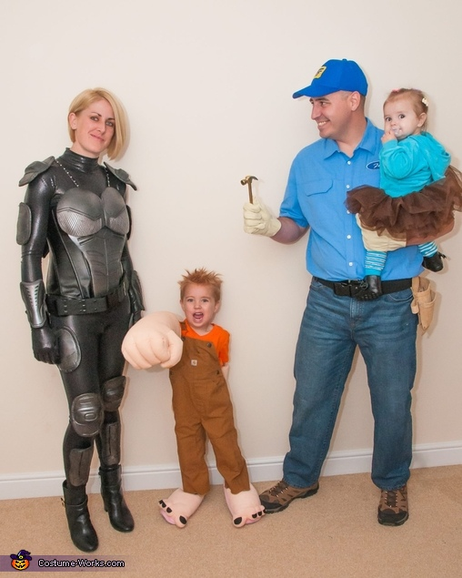 Wreck-It Ralph Group Costume