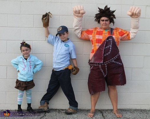 Wreck-It Ralph Movie Characters Costume