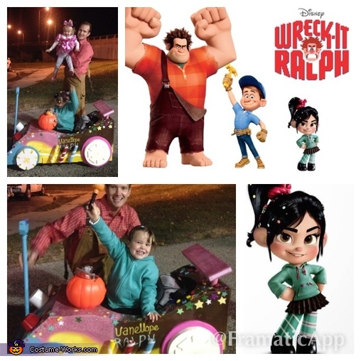 Wreck-It Ralph & Vanellope von Schweetz Homemade Costume