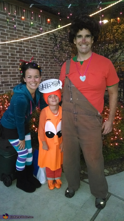 Wreck It Ralph Family Costume