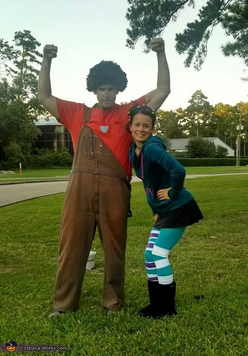 Ralph and Vanellope, Wreck It Ralph Family Costume