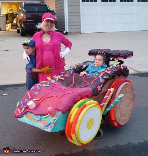 Wreck It Ralph Crew Homemade Costume