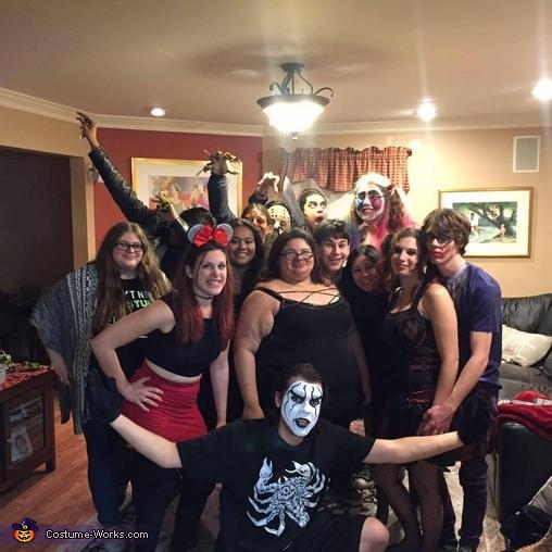 Wrestler Sting Homemade Costume