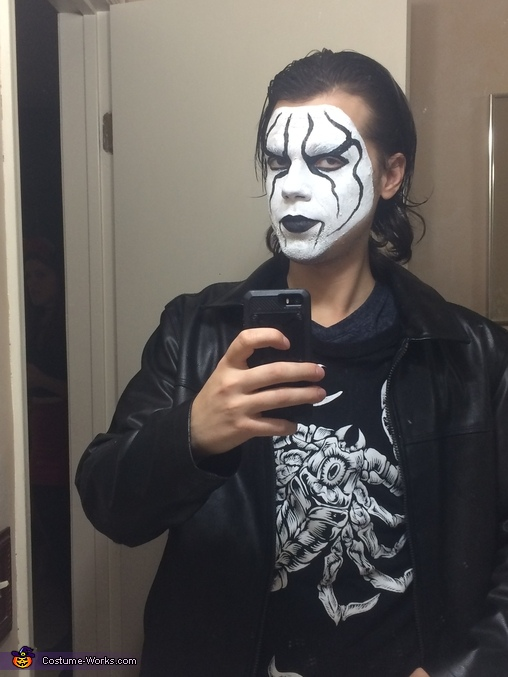 wrestler sting homemade costume