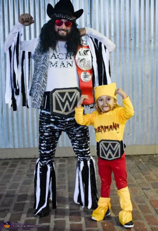 Wrestling Brothers Costume