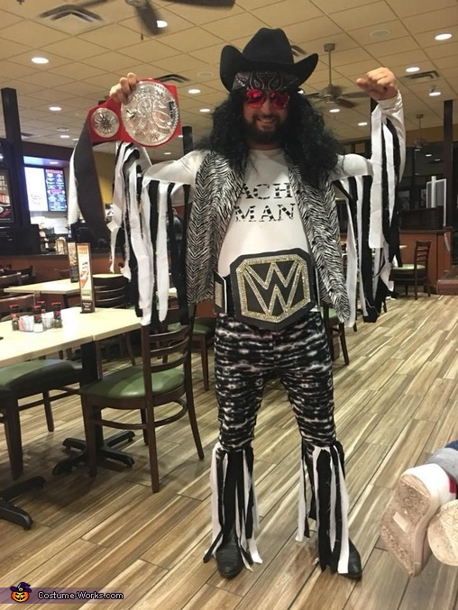 Wrestling Brothers Homemade Costume
