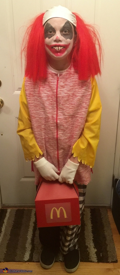 Wrongald McDonald Costume