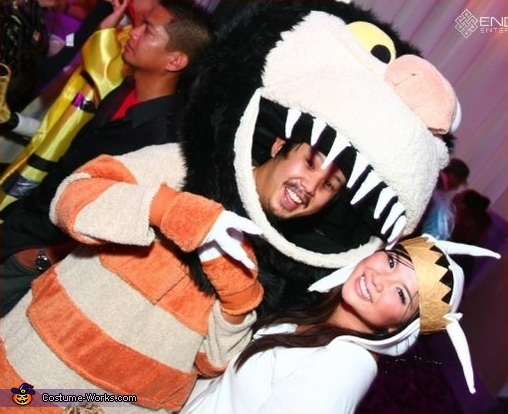 Where the Wild Things Are - Homemade costumes for couples