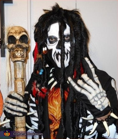 Richard is the Doctor..., Witch Doctor & Voodoo Doll Costume