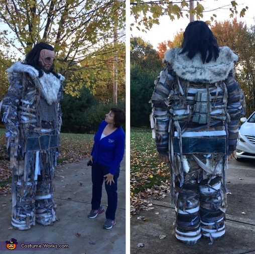 Wun Wun the Giant from Game of Thrones Costume