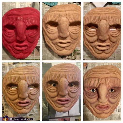 Painting the Face, Wun Wun the Giant from Game of Thrones Costume