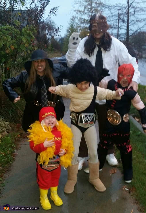 WWE Wrestlers Costume