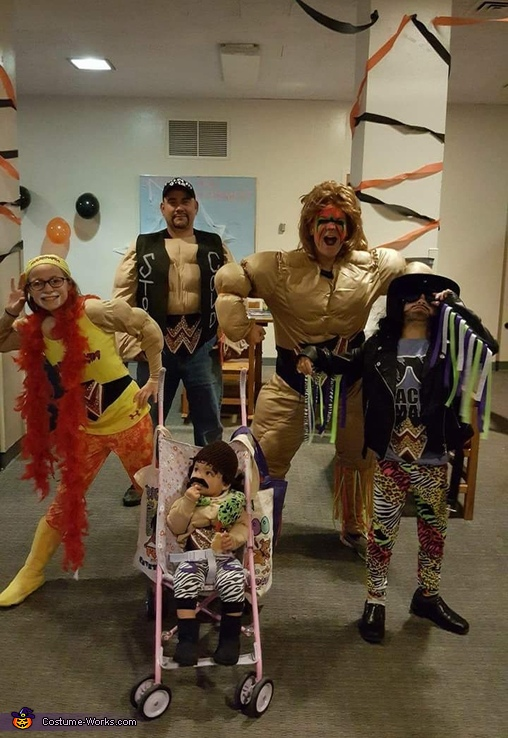 WWE Wrestling Family Costume