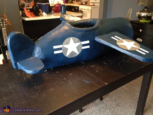 WWII F4U Corsair Pilot Homemade Costume