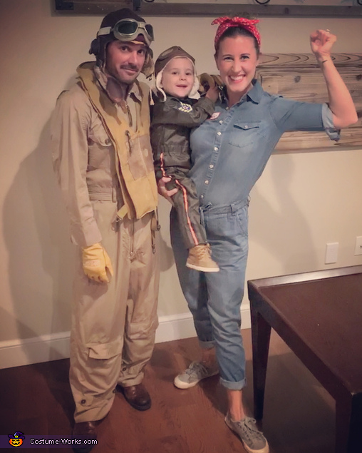 WWII Family Costume