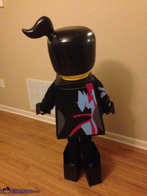Even painted the graphics on the back :), Wyldstyle from The Lego Movie Costume