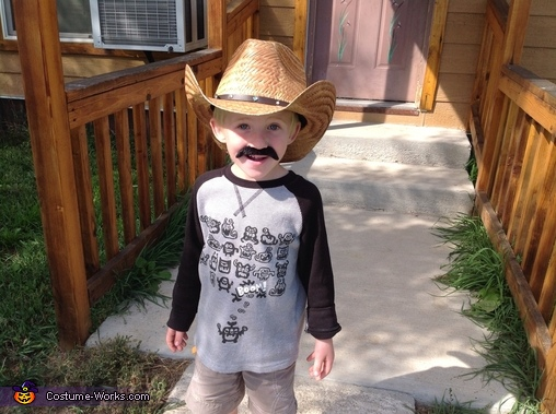 Wyoming Cowboy, Wyoming Born & Bread Costume