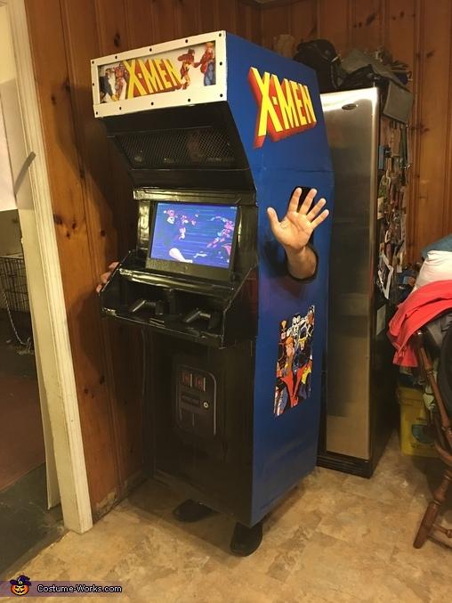 X-Men Arcade Homemade Costume