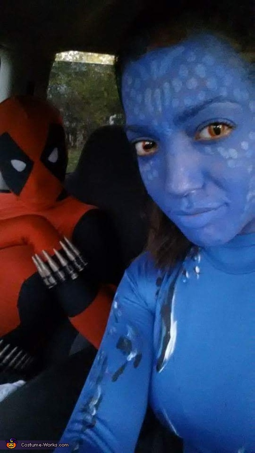 mystique and Deadpool, X-Men Costume