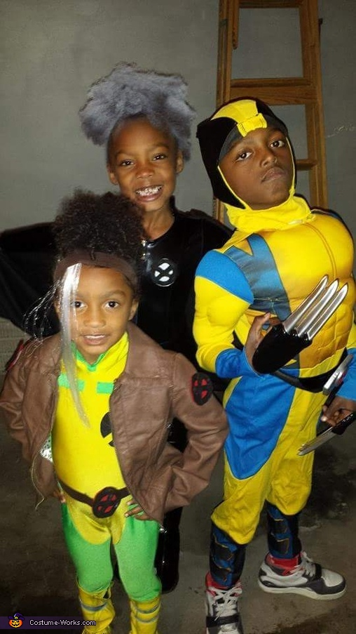 Storm, Wolverine and Rogue, X-Men Costume