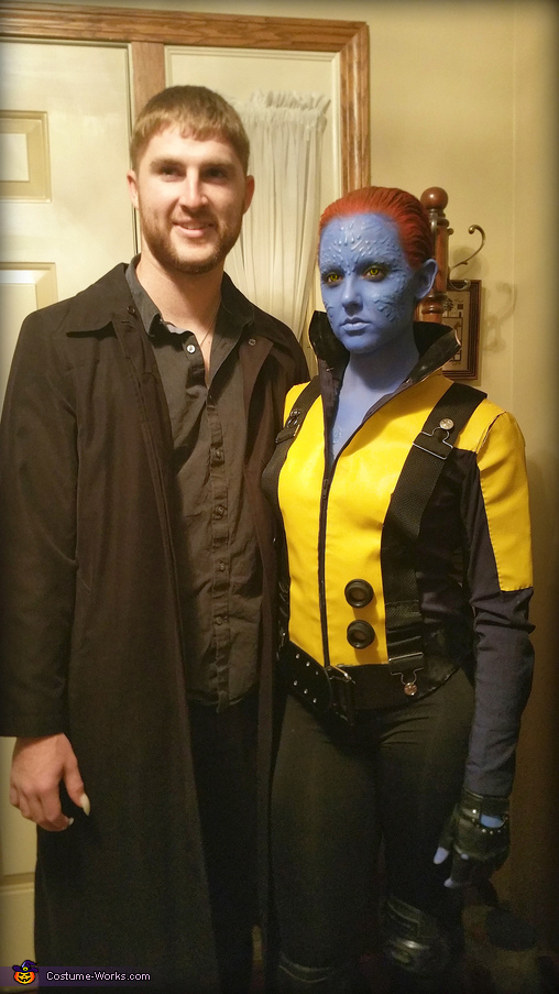 No Flash, Mystique from X-Men First Class Costume