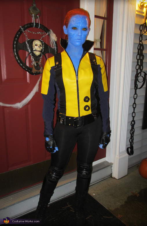 Mystique from X-Men First Class Costume