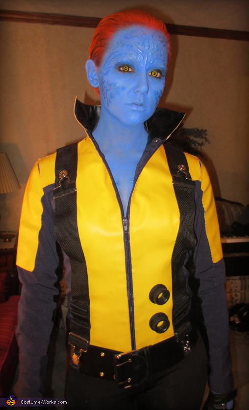 Me, Mystique, Mystique from X-Men First Class Costume