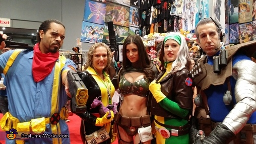 X-Men Group Costume