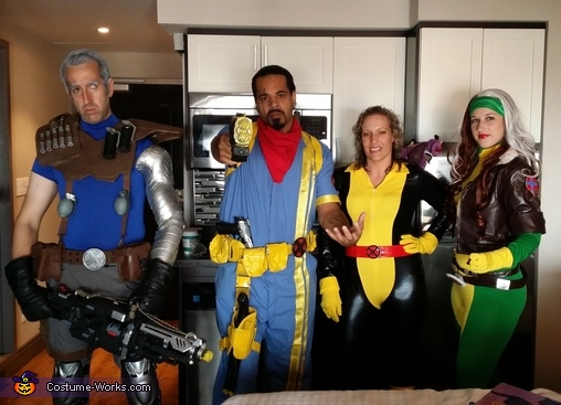 X-Men Group Costumes